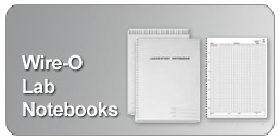 wirebound lab notebooks