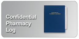 confidential pharmacy log books