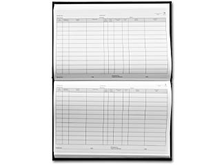 sample receipt log book bookfactory